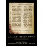 Williams' Hebrew Syntax (Paperback)