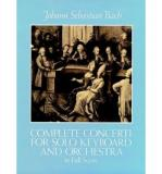 J.S. Bach: Complete Concerti for Solo Keyboard and Orchestra in Full Score