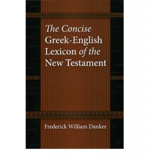 The Concise Greek English Lexicon of the New Testament
